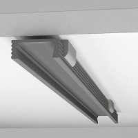 Профиль  алюминиевый для светодиодной ленты X300