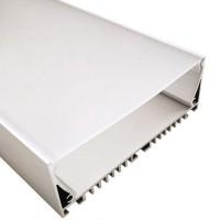Комплект алюминиевый профиль  X1701 и матовая линза  A1701