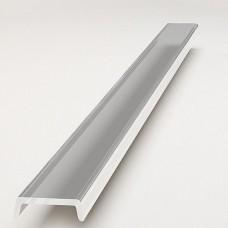 Линза прозрачная  рассеивающая плоская A304 для профиля X300-303, Х400