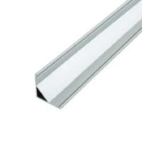 Угловой профиль алюминиевый ЛПУ-16 (16х16 мм) анодированный, м