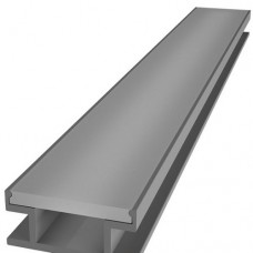 Комплект алюминиевый профиль X800 + матовый рассеиватель A800 для подсветки пола
