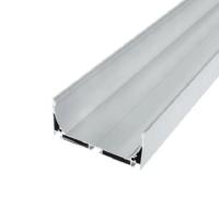 Профиль алюминиевый подвесной для светодиодных светильников ЛС-75 (35*75мм) анодированный, м