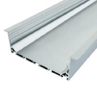Профиль алюминиевый врезной ЛСВ-100 (35 * 100 мм) анодированный, м