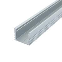 Профиль алюминиевый накладной ЛП12 (12х16 мм) для светодиодного светильника , м