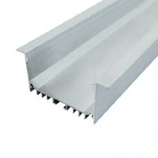 Светодиодный профиль алюминиевый ЛСВ-55 (32*55мм) анодированный, м