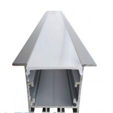 Комплект алюмінієвий профіль X1502 + матовий розсіювач A1502 , м