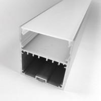 Комплект алюминиевый профиль X950 + матовый рассеиватель  A950
